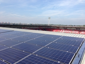 Rovers score with renewable energy