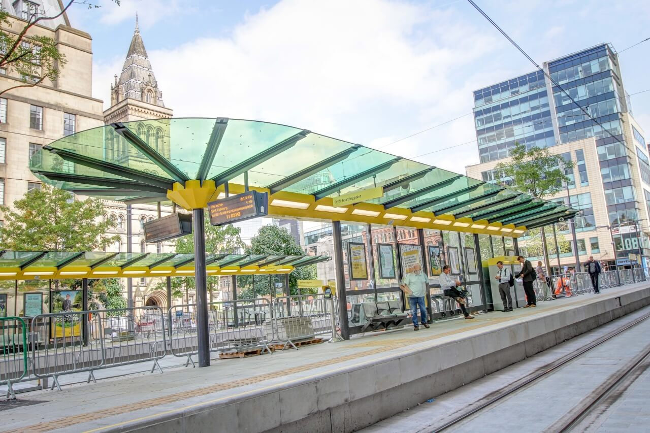 Romag Has New City Centre Tram Way Stop Covered News