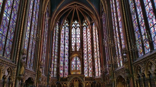 Stained Glass Windows Of Sainte-Chapelle