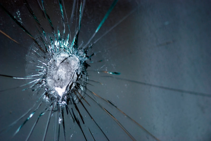 Bullet Proof Glass - Impact
