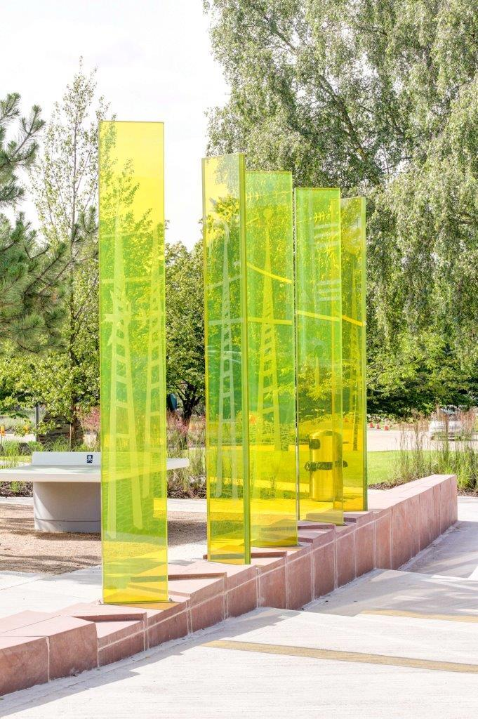 Laminated Glass - Outdoor Art