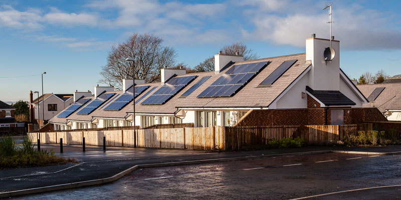 Solar Panel Kits - Housing Estate