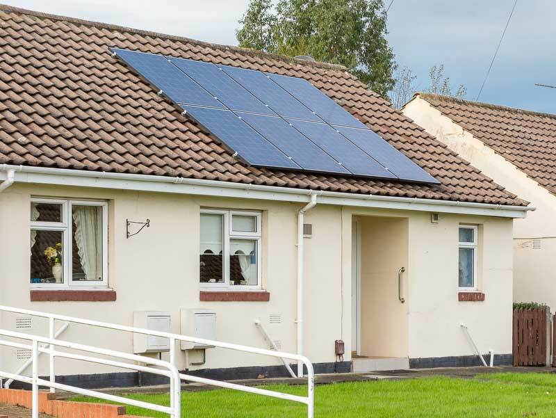 Solar Panel Kits - Housing Example