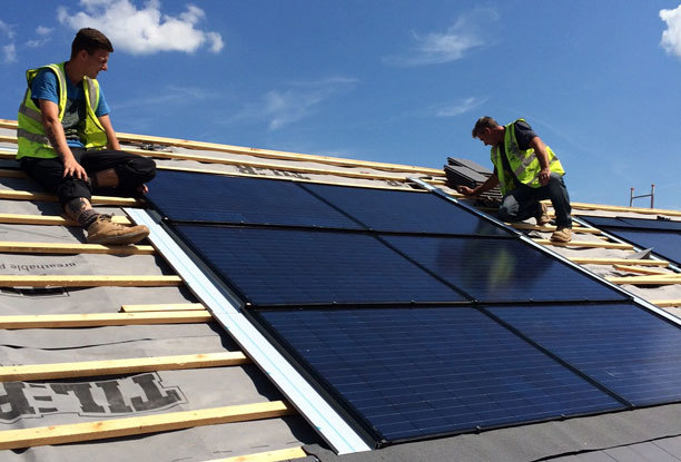 Solar Roof Tiles - Installation