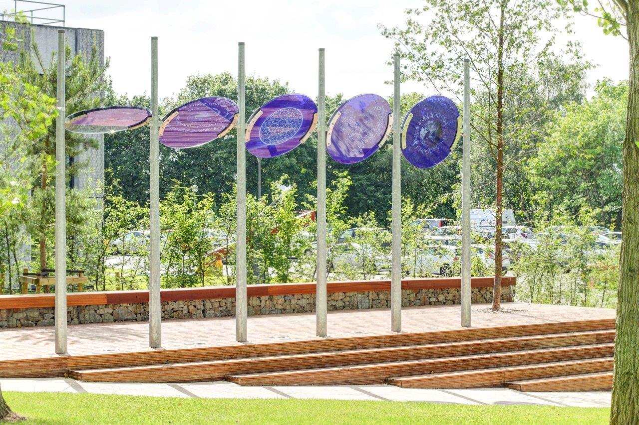 Tinted Glass - Outdoor Art 8