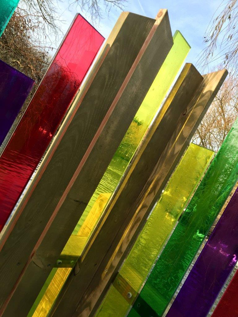 Tinted Glass - Outdoor Art 3