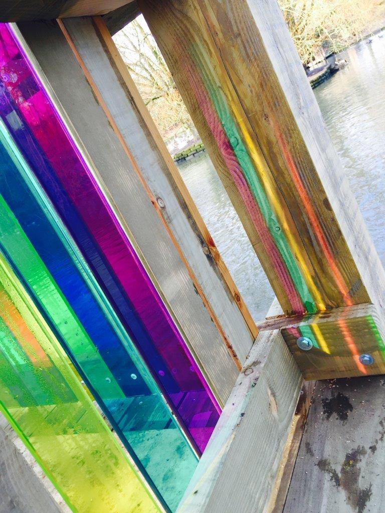 Tinted Glass - Outdoor Art 4