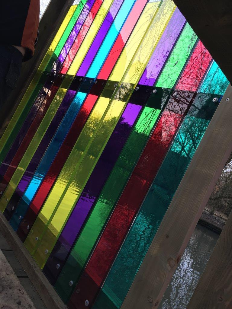 Tinted Glass - Outdoor Art 5